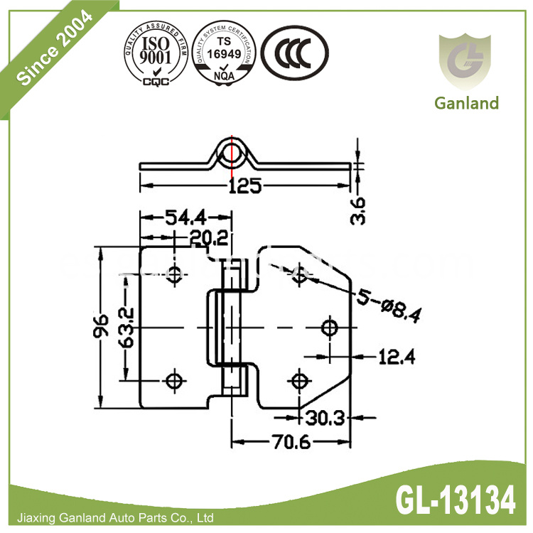 Heavy Duty Door Hinge GL-13134